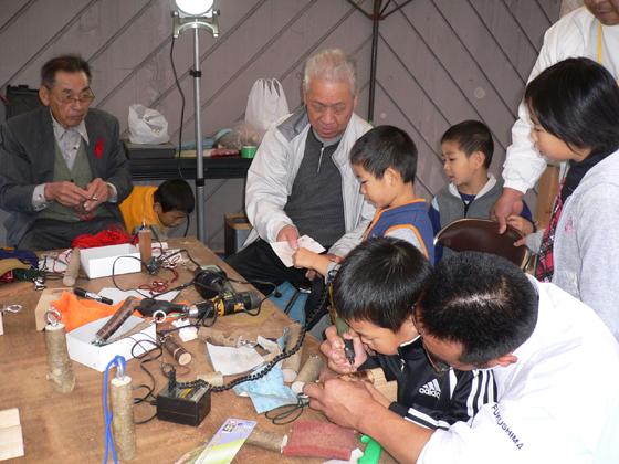 たむらまち商工感謝祭木工教室